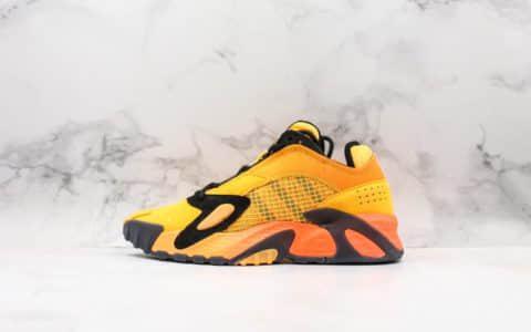 阿迪达斯adidas Streetball 2019黑橙纯原版本阿迪达斯新款运动鞋 货号:EF9598