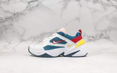 耐克Nike M2K Tekno纯原版本全网独家首发实拍M2K复古老爹鞋红绿白原厂渠道天猫外贸客户指定版本 货号:AO3108-402