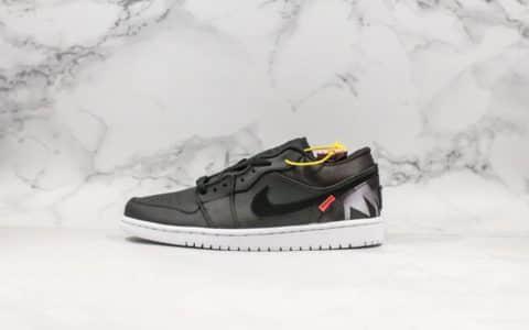 耐克Nike Air Jordan1 Low PSG纯原版本大巴黎AJ1低帮后掌内置Air Sole气垫男子实战篮球鞋 货号:CK0687-001