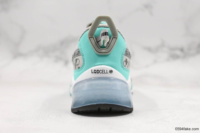 彪马PUMA LQD CELL Optic新款复古科技风老爹鞋大面积蝉翼材质与透明热固材质结合