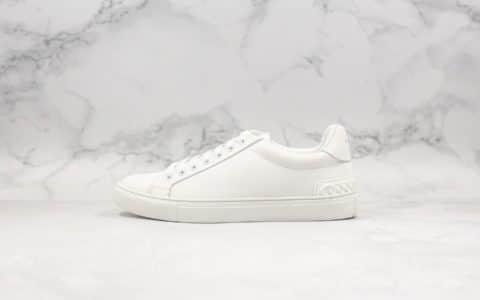 纪梵希Givenchy Low-top lace-up sneakers小白鞋卷花边白尾限定款纯原整码顶级无胶工艺定制丝绸牛皮高密EVA脚垫