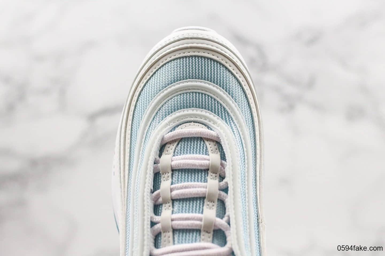Nike Air Max 97 Gold Reflective Sneaker Bar Detroit