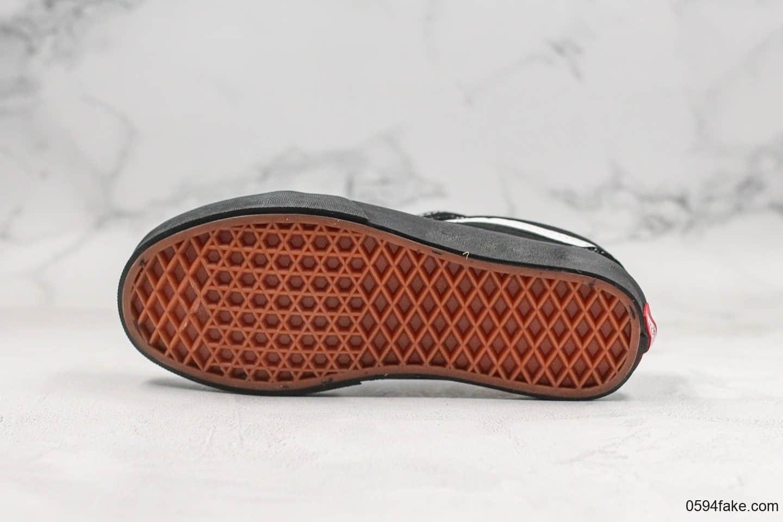 万斯Vans old skool公司级版本全新一代低帮黑武士硫化板鞋原厂硫化底原厂鞋底钢印区别市面通货版本