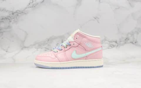 乔丹Nike Wmns Air Jordan 1 Ret Hi Prem纯原版本荧光粉AJ1反光乔1粉色满天星原鞋开模区别市面通货版本 货号:555112-600