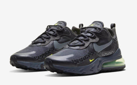 Nike Air Max 270 React再释新配色!你冲不冲? 货号:CT2538-001