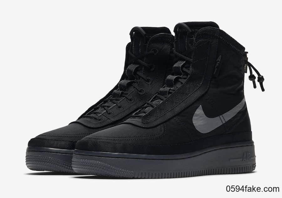 这个秋冬时尚和保暖都可以有!Nike Air Force 1 Shell WMNS首度曝光!
