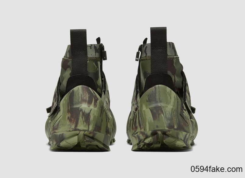 """迷彩鞋面+可拆卸外底!MMW x Nike Free TR 3"""" Camo Green""""现已发售!"""