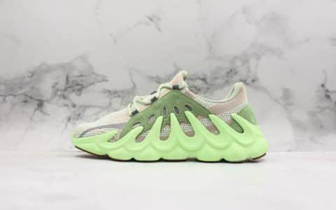 阿迪达斯adidas Yeezy Boost 451椰子神秘火山541荧光绿公司级带半码侃爷新作首发尝鲜不容错过