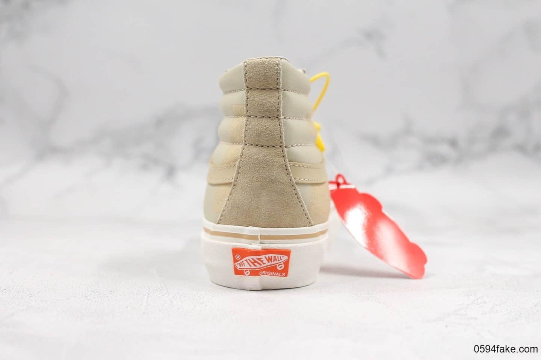 万斯VANS Vault OG SK8-HI x UNDEFEATED美潮品牌五杠联名款高帮硫化帆布板鞋定制特殊军事风格鞋盒