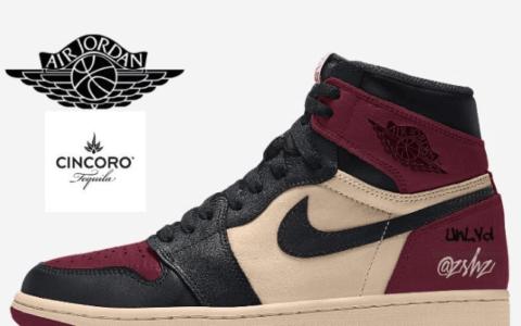 以龙舌兰酒为灵感!这双Air Jordan 1充满独特复古风情!