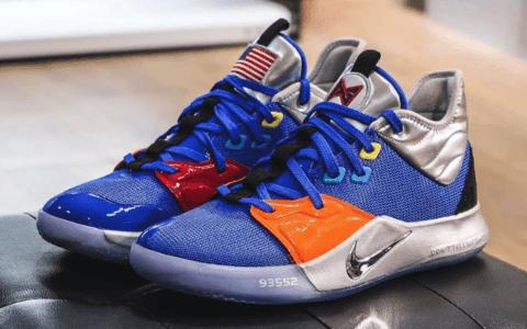 全新Nike PG 3 NASA即将登场!科幻感十足! 货号:CI2666B-400