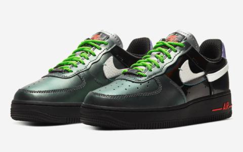 全新Nike Air Force 1 Vandalized曝光!细节满满绝对抢眼! 货号:CT7359-001