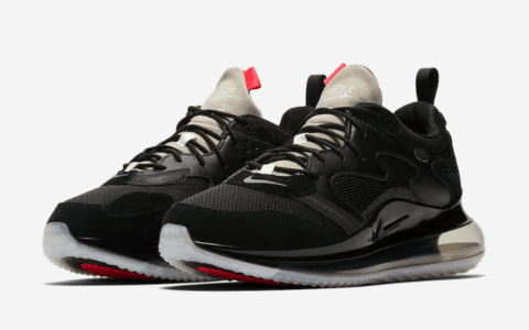 "Nike Air Max 720 OBJ"" Black""释出官图!干净利落! 货号:CK2531-002"