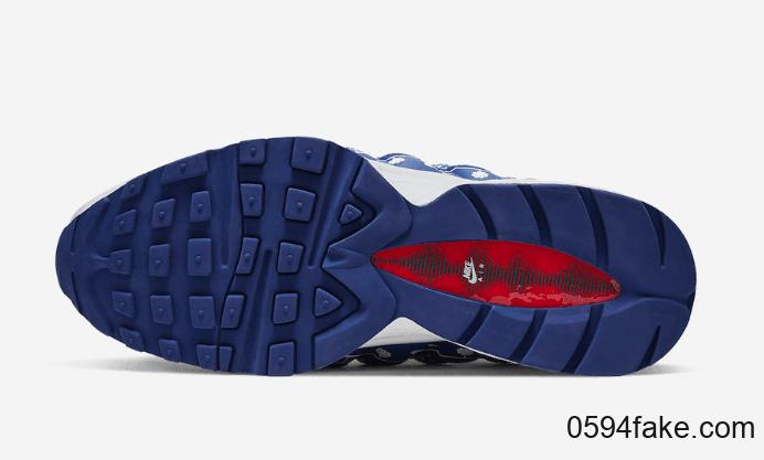 浓郁圣诞节氛围!这双Nike Air Max 95还穿上了毛衣! 货号:CT1593-100
