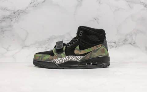 乔丹Air Jordan Legacy 312 NRG P纯原版本AJ312迷彩配色内置气垫原盒原标高帮乔丹篮球鞋 货号:AV3922-003