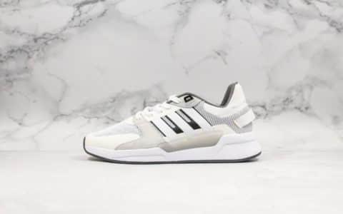 阿迪达斯Adidas swift NEO RUN90S公司级版本官方主推经典款慢跑鞋原档案数据开发区别市面错误版本 货号:EF0585