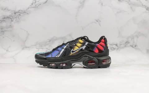 耐克Nike Air Max PLUS TXT纯原版本复古气垫运动鞋彩色内置可视气垫原档案数据开发打造裸眼3D视觉 货号:918240-023