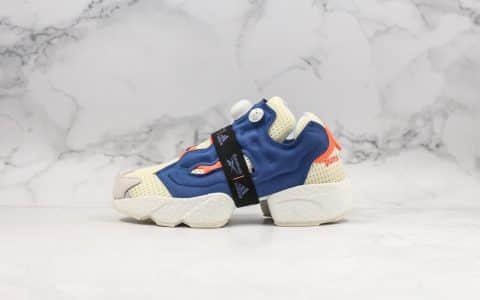 阿迪达斯Adidas Instapump Fury Boost Prototype x Reebok纯原版本锐步全新联名系列白蓝配色大底Boost缓震效果原档案数据开发 货号:FU9240