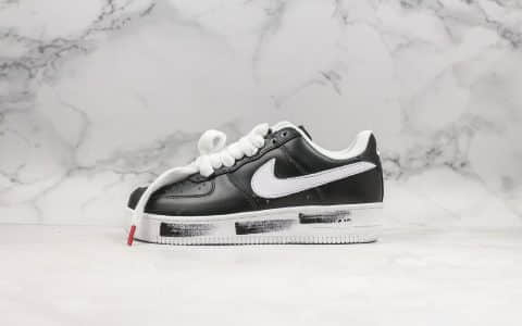 耐克Nike Air Force 1 Low x PEACEMINUSONE纯原版本低帮刮刮乐空军一号权志龙款联名款小雏菊配色原档案数据开发表皮可撕裂区别市面通货版本 货号:AQ3692-001