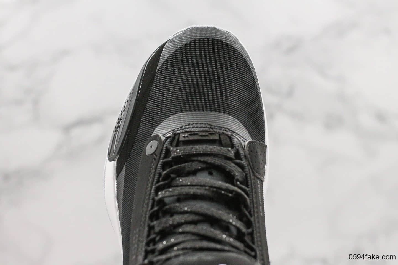 乔丹Air Jordan 34 Eclipse纯原版本乔34日食配色内置气垫鞋底镂空设计支持实战 货号:AR3240-001