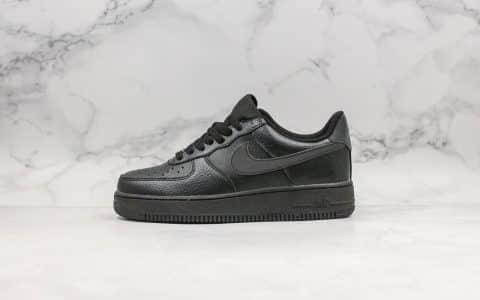 耐克Nike Air Force 1 Night Spiri纯原版本低帮空军一号暗黑精灵3M反光原楦头纸板打造高鞋面清洁度内置全掌气垫 货号:BQ4326-001
