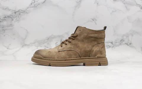 卡特CAT FOOTWEAR纯原版本复古马丁靴全球同步首发原代工生产真正头层小牛皮搭配橡胶大底