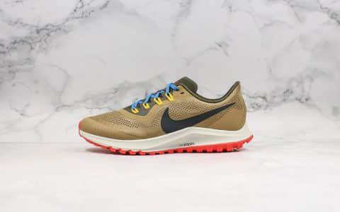 耐克Nike Air Zoom Pegasus纯原版本登月36代跑步鞋内置Zoom气垫原盒原标区别市面通货版本 货号:AR5677-002