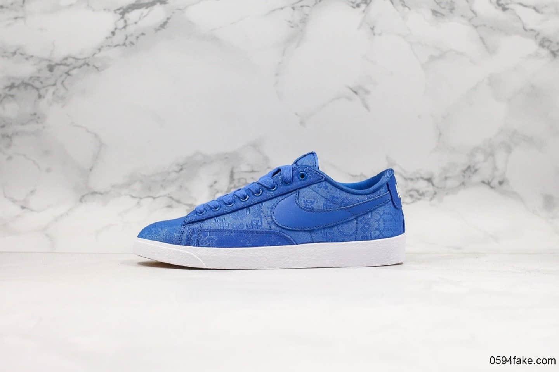 耐克Nike Blazer Low Le公司级版本低帮开拓者