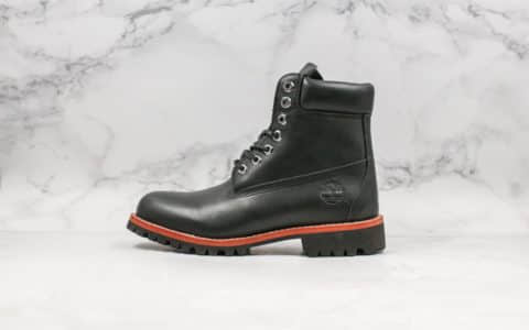 天伯伦Timberland中山代工厂经典6寸黑色专柜品质顶级头层防水面料高帮马丁靴 货号:TB0A1P61