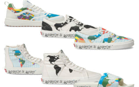 "环保联名!Vans"" Save Our Planet""系列现已发售!"