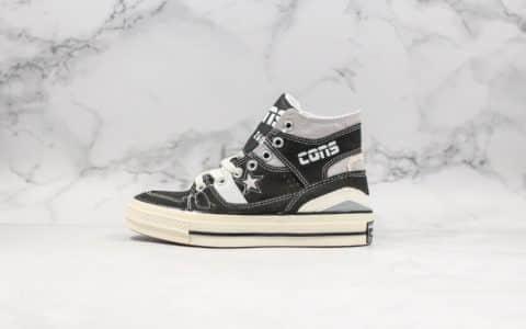 匡威Converse Chuck 70 x gaibangxikirCarhartt Wip纯原版本军事工装风卡哈特联名款黑色高帮帆布板鞋