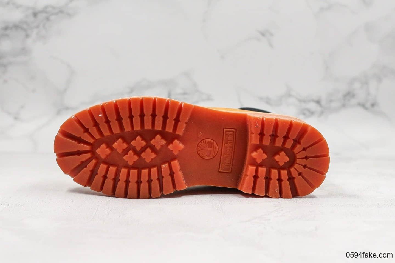 天伯伦Timberland添柏岚45周年超强限定款纯原版本经典防水大黄靴原档案数据开发量产全新工艺升级配备ZP套件细节完美复原 货号:A1VXW