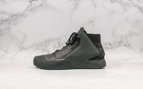 山本耀司Y-3 BBALL TECH High-top sneakers纯原版本户外机能中帮休闲靴广东原厂头层皮质 货号:CG3146