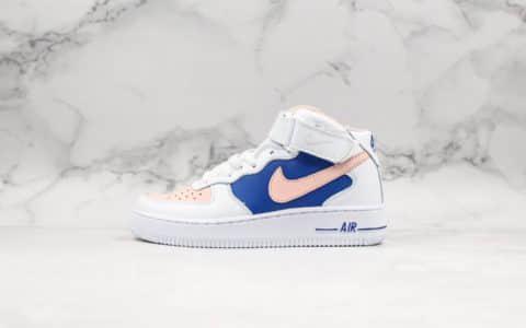 耐克Nike Air Force 1 Hi YOHOOD纯原版本空军一号高帮经典款内置全掌气垫中底钢印俱全正确版本休闲情侣板鞋 货号:315186-001