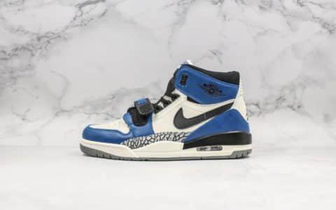 乔丹Air Jordan Legacy 312三合一白蓝配色纯原版本乔丹312实战篮球鞋 货号:AQ4160-104