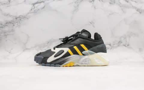 阿迪达斯Adidas streetball纯原版本街头风格小椰子700全新配色鞋面采用大面积荔枝皮搭配橡胶外底时尚老爹鞋 货号:EE5926