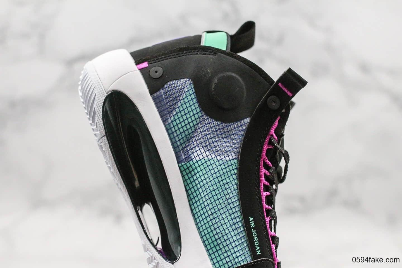 乔丹Air Jordan 34 Eclipse纯原版本AJ34电光紫实战篮球鞋原盒原标市售唯一纯原版本 货号:BQ3381-400