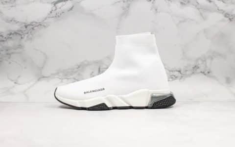 巴黎世家Balenciaga纯原版本全新气垫袜子鞋原厂气垫Pu大底高弹针织面2020年春季新款