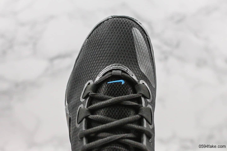耐克Nike Zoom Freak 1纯原版本字母哥黑银大倒勾配色内置双气垫原档案开发区别市面通货版本支持实战 货号:BQ5422-004