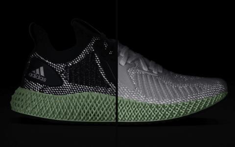 全新Adidas Alphaedge 4D即将发售!反光鞋面超酷炫