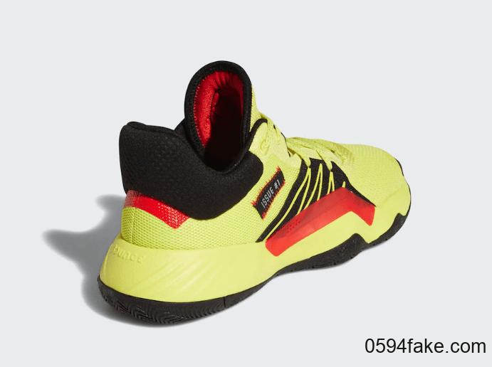 亮眼柠檬黄!adidas DON Issue 1新配色现已发售! 货号:EG5667