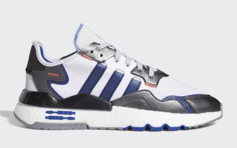 """《星球大战》 x adidas Nite Jogger"""" R2-D2""""官图释出!下月发售! 货号:FV8040"""