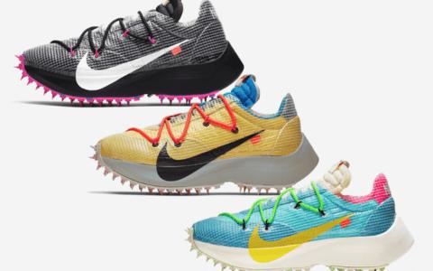 三双Off-White x Nike Vapor Street释出官图!下周发售!