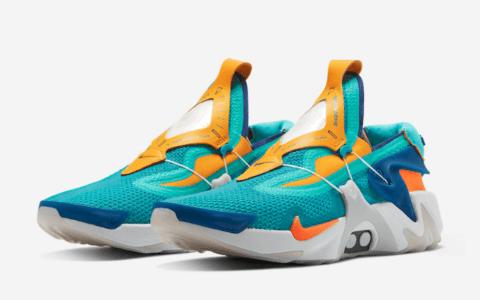 """自动系带跑鞋释出新配色!Nike Adapt Huarache"""" Hyper Jade""""将于11月14日发售! 货号:BV6397-300"""