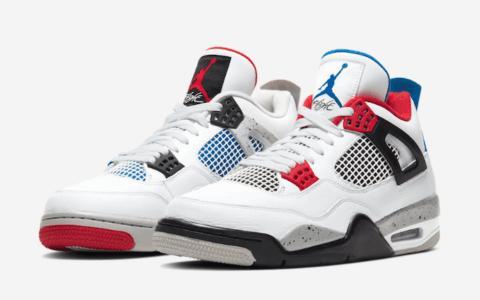 "Air Jordan 4"" What The""官图释出!下周发售! 货号:CI1184-146"