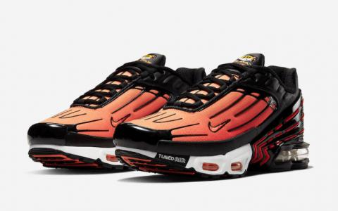 活力橘色系!Nike Air Max Plus 3新配色即将发售! 货号:CD7055-001