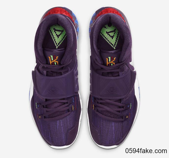 """葡萄紫配色!Nike Kyrie 6"""" Grand Purple""""月底发售! 货号:BQ4630-500"""