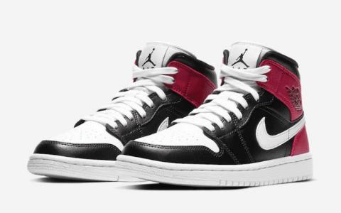 全新 Air Jordan 1 Mid即将登场!是你喜欢的配色吗? 货号:BQ6472-016