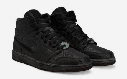 黑丝绸 Air Jordan 1 Mid明日发售!颜值赛高!