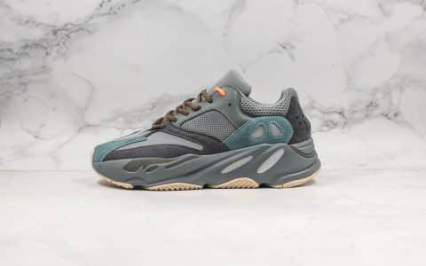 阿迪达斯Adidas Yeezy Boost 700V2 Teal Blue纯原版本椰子700老爹鞋青蓝配色内置Boost缓震大底原材打造 货号:FW2499